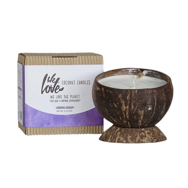 We Love The Planet coconut candle petite puce
