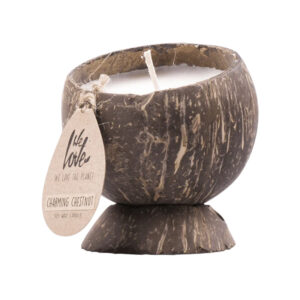 We Love The Planet coconut candle