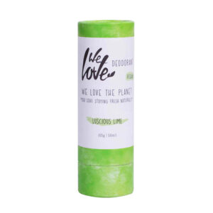 We Love The Planet deo stick vegan lucious lime deodorant
